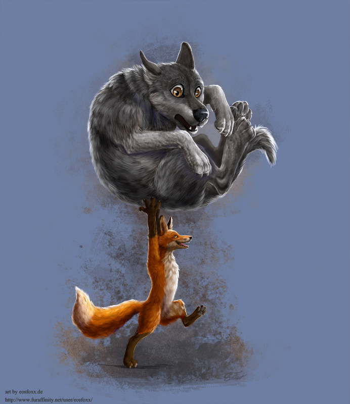 foxes are mighty